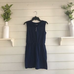 Girls Gap Navy Blue Dress